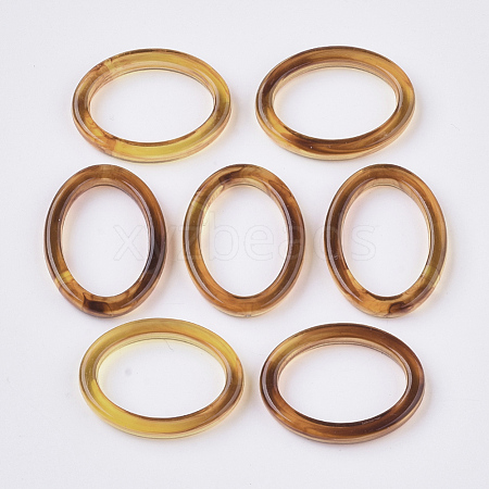 Transparent Acrylic Linking RingsX-OACR-S028-117-1