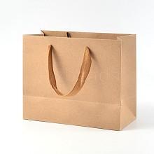 Rectangle Kraft Paper Bags AJEW-L047E-01