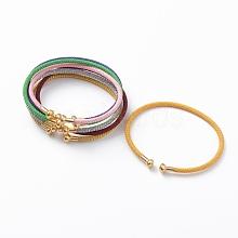 Braided 304 Stainless Steel Wire Bracelet Making MAK-A017-B