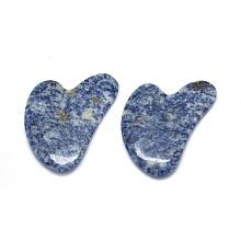 Natural Blue Spot Jasper Gua Sha Boards G-O175-01