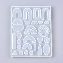 Silicone Pendant Molds DIY-L043-001