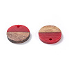 Resin & Wood Pendants X-RESI-S358-02C-M-2