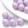 Environmental Plastic Imitation Pearl BeadsX-MACR-S277-5mm-B-2