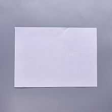 A4 Double Sided Tape Adhesive Paper AJEW-WH0096-88