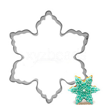 304 Stainless Steel Christmas Cookie Cutters DIY-E012-86