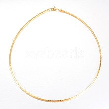 Vacuum Plating 304 Stainless Steel Necklaces NJEW-G310-06G