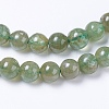 Natural Green Apatite Beads StrandsG-F568-208-6mm-3