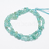 Natural Apatite Beads Strands G-P406-50-2