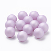 Environmental Plastic Imitation Pearl Beads X-MACR-S277-10mm-B-3