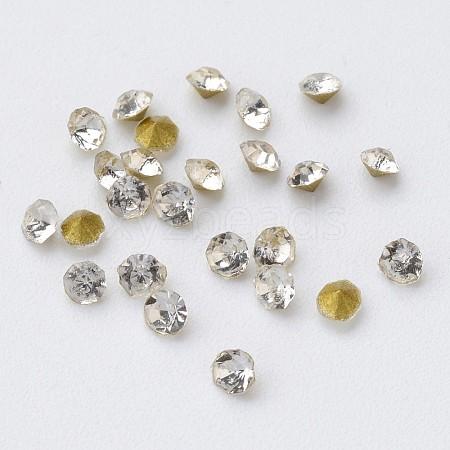 Glass Rhinestone CabochonsRGLA-D006-02-1