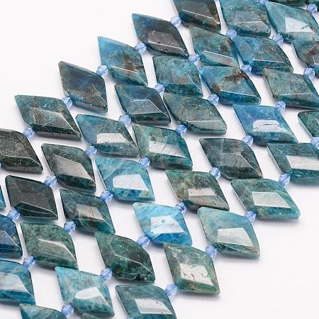 Natural Apatite Beads StrandsG-J373-23I-1