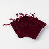 Rectangle Velvet Pouches TP-R022-5x7-02-2