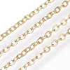 Soldered Brass Cable Chains KK-S332-21G-1