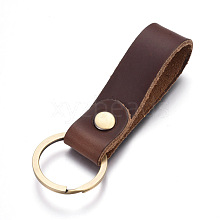 Cowhide Leather Keychain KEYC-WH0014-A02
