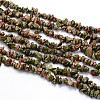 Natural Unakite Beads Strands X-G-O049-A-05-1