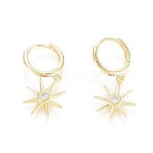 925 Sterling Silver Hoop Earrings STER-G031-10G